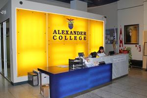 Study in Alexander College