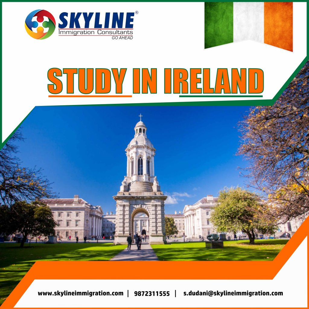 study in ireland from india,