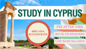 Study abroad visa consultants Cyprus without IELTS