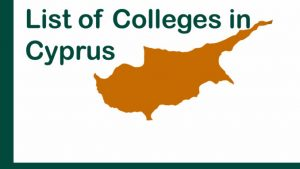 list of colleges in cyprus