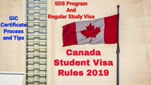 Canada Students Visa documents required