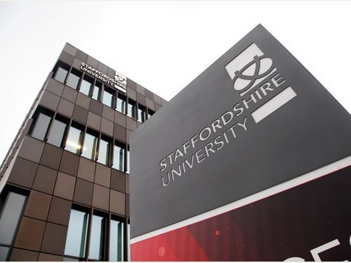 Staffordshire University course list
